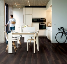 Fumed oak dark, planks